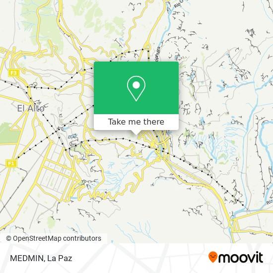 MEDMIN map