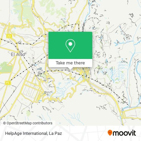 HelpAge International map