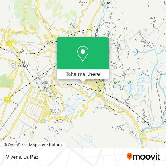 Vivens map