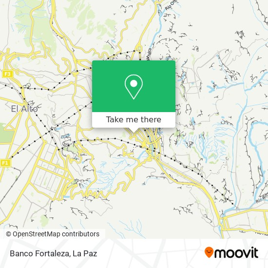 Banco Fortaleza map