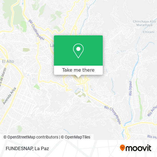 FUNDESNAP map
