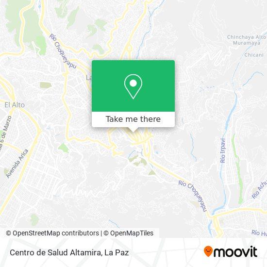 Centro de Salud Altamira map