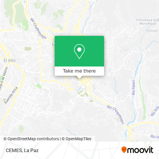 CEMES map
