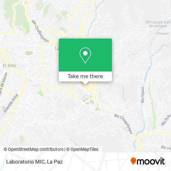 Laboratorio MIC map