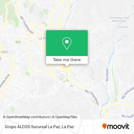 Grupo ALCOS Sucursal La Paz map