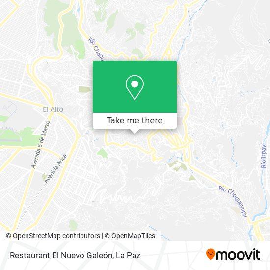 Restaurant El Nuevo Galeón map