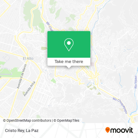 Cristo Rey map