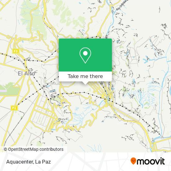 Aquacenter map
