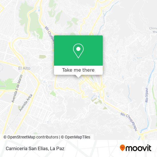 Carnicería San Elías map