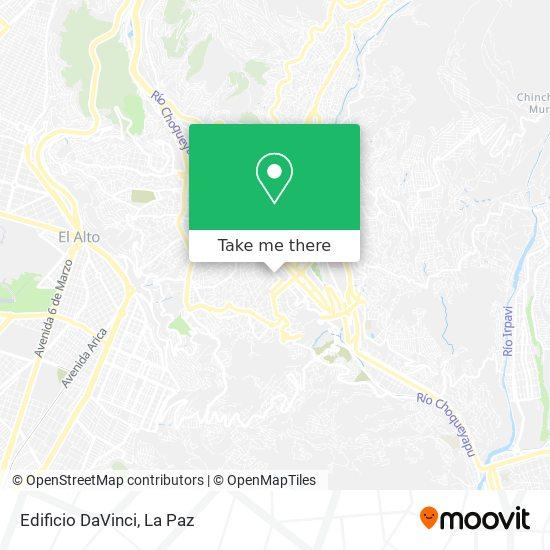 Edificio DaVinci map