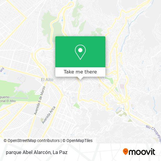 parque Abel Alarcón map