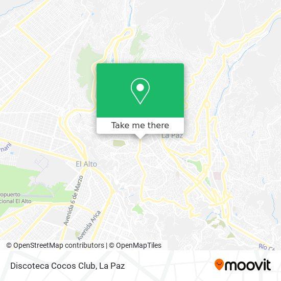 Discoteca Cocos Club map