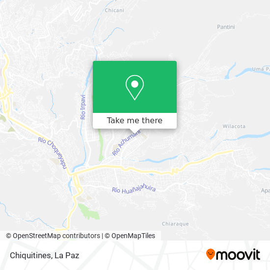 Chiquitines map