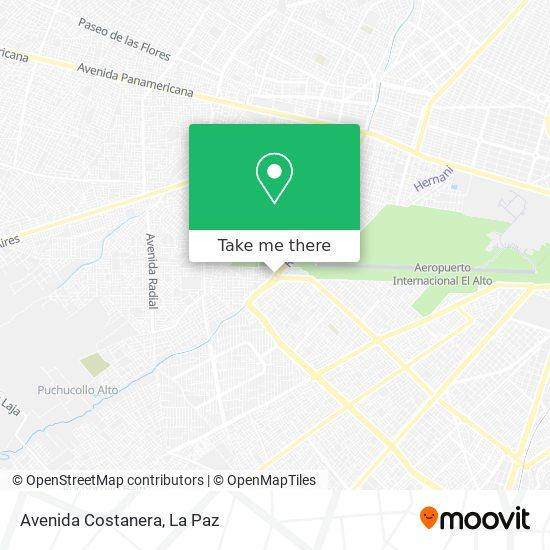 Avenida Costanera map