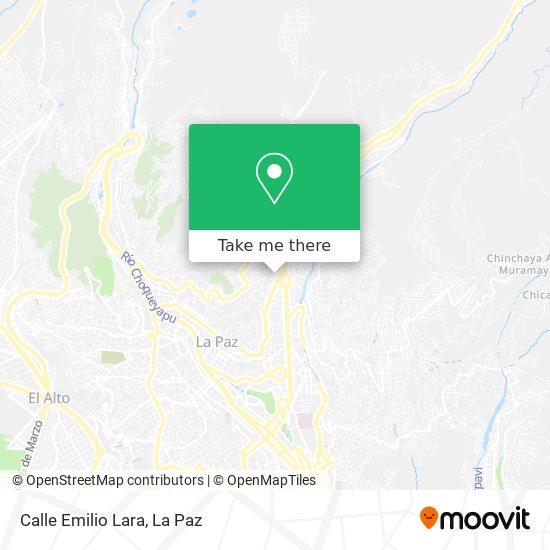Calle Emilio Lara map