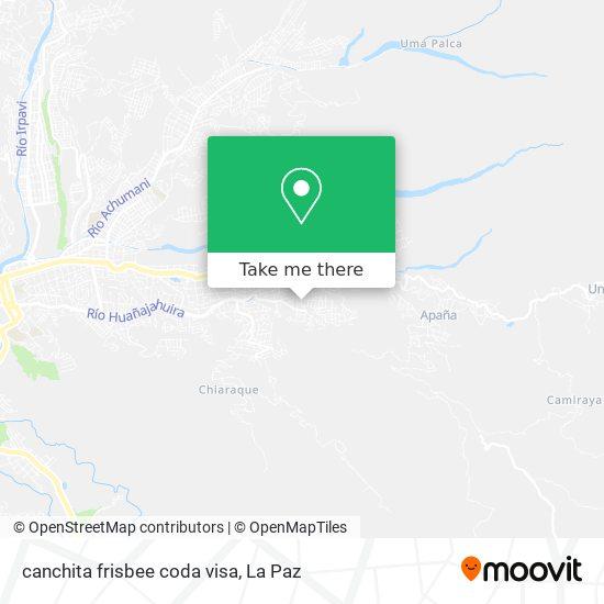 canchita frisbee coda visa map