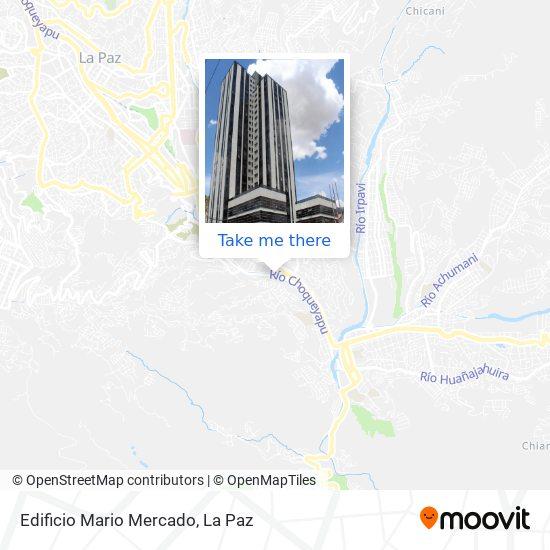 Edificio Mario Mercado map