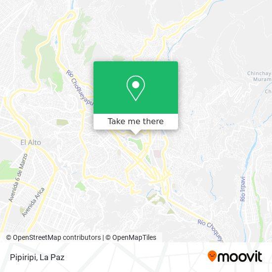 Pipiripi map
