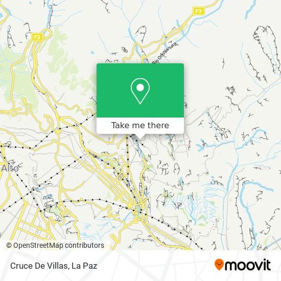 Cruce De Villas map
