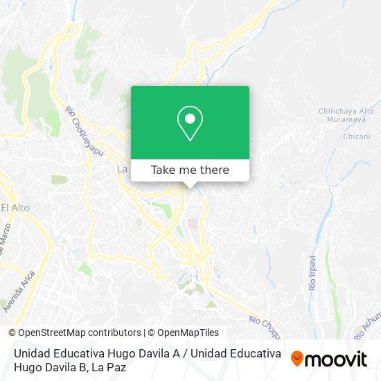 Hugo Davila map