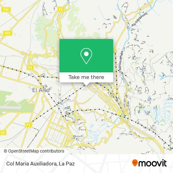 Col Maria Auxiliadora map