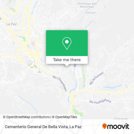 Cementerio General De Bella Vista map