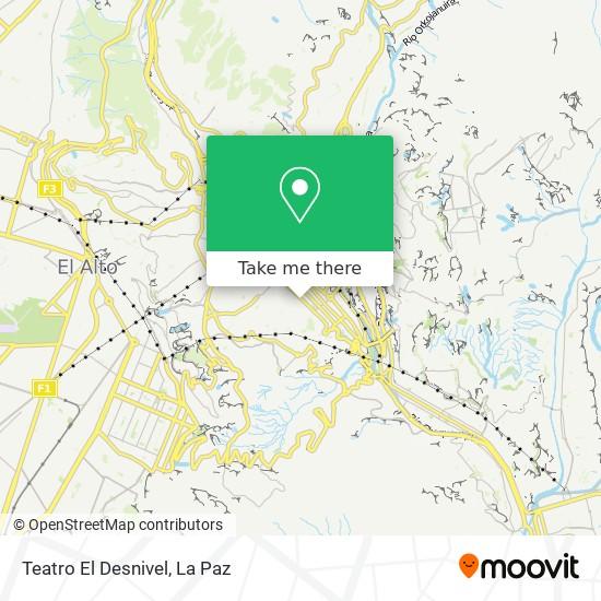 Teatro El Desnivel map