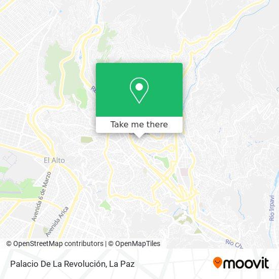Palacio De La Revolución map