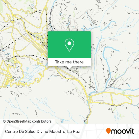 Centro De Salud Divino Maestro map