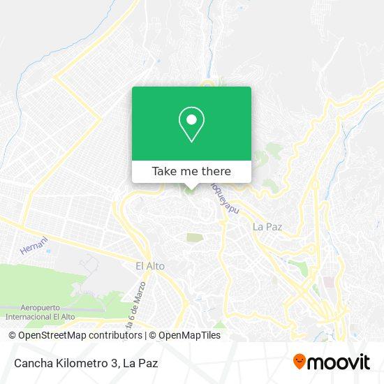Cancha Km 3 map