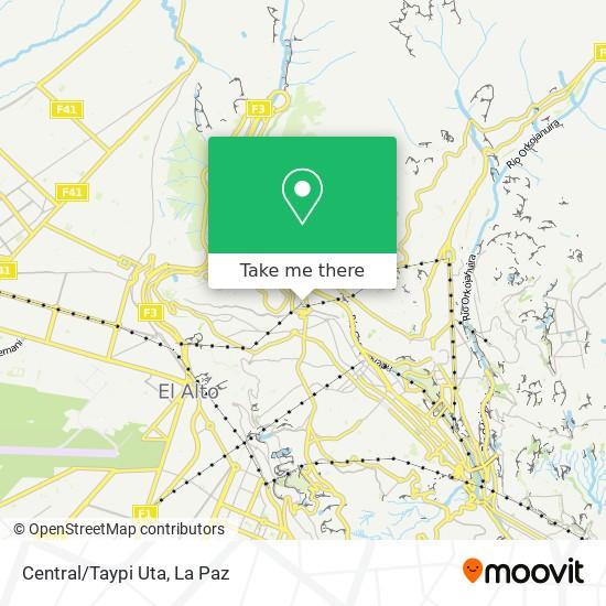 Central/Taypi Uta map