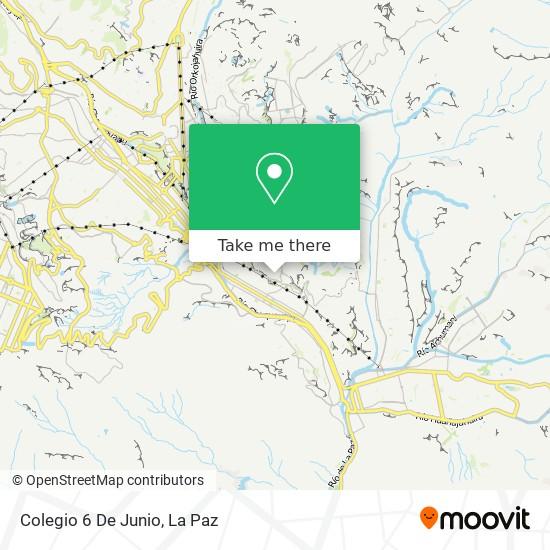 Colegio 6 De Junio map