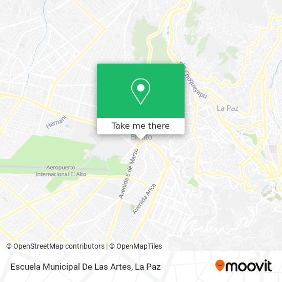 Alcaldia Quemada map