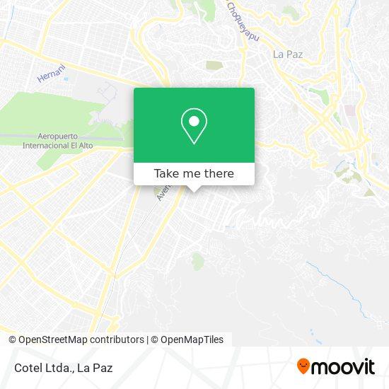 Cotel Ltda. map