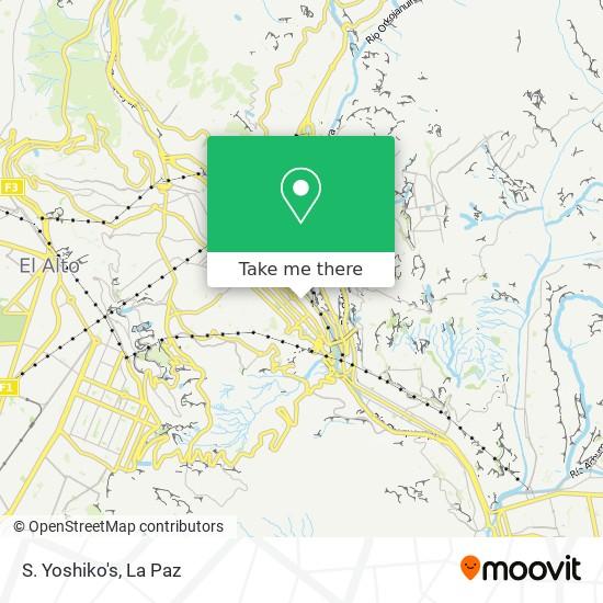 S. Yoshiko's map
