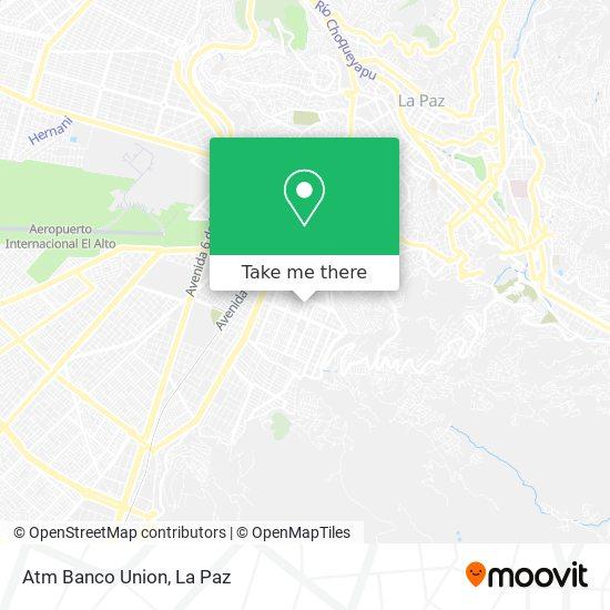 Banco Union map