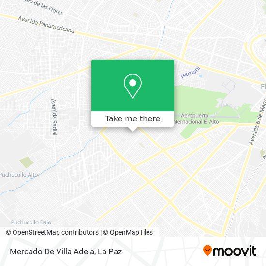 Mercado De Villa Adela map