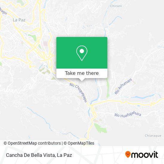 Cancha De Bella Vista map