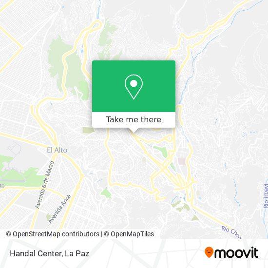Edificio Handal Center map