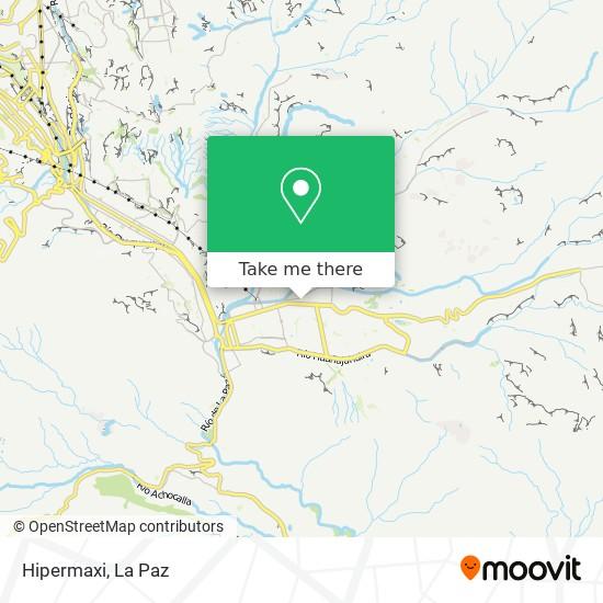 Hipermaxi map