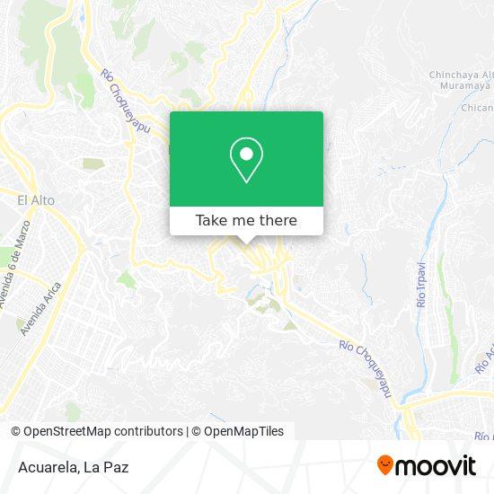 Acuarela map