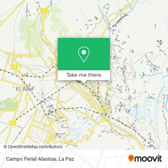 Campo Ferial Alasitas map