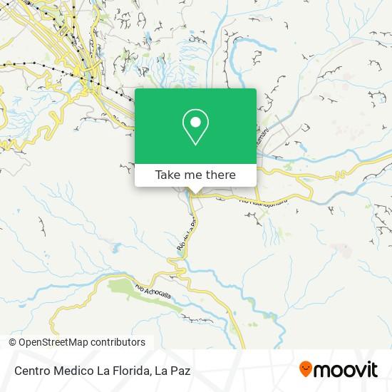 La Florida map
