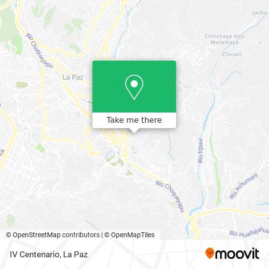 Iv Centenario map