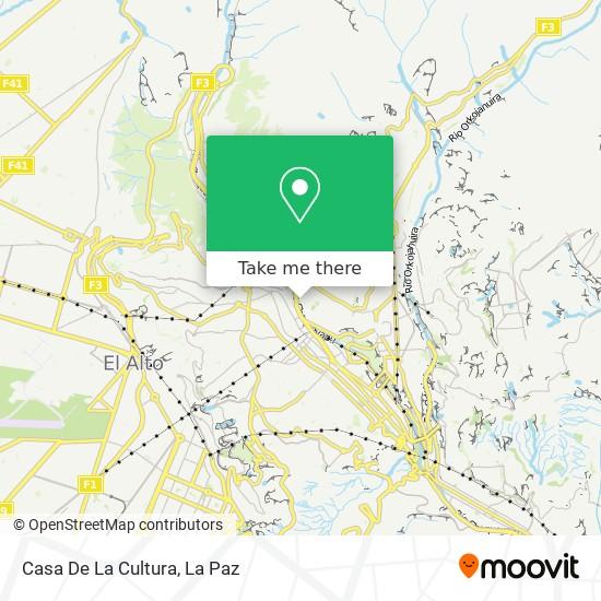 Casa De La Cultura map