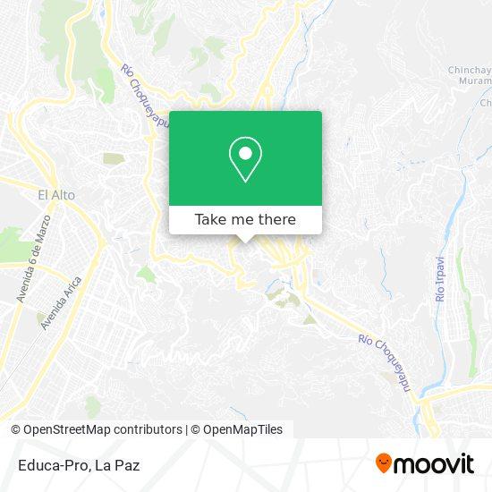 Educa-Pro map