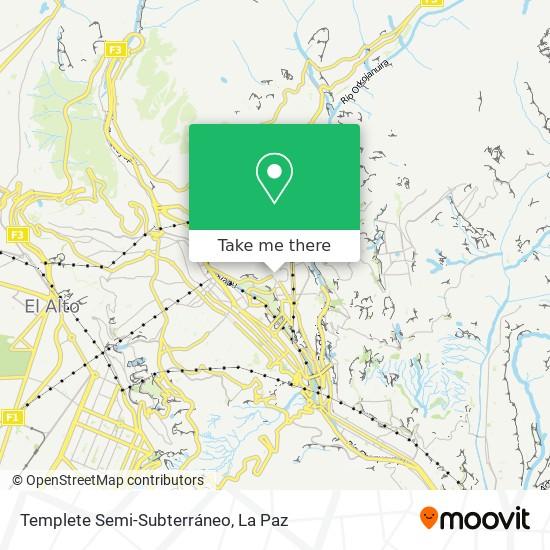 Templete Semi-Subterráneo map