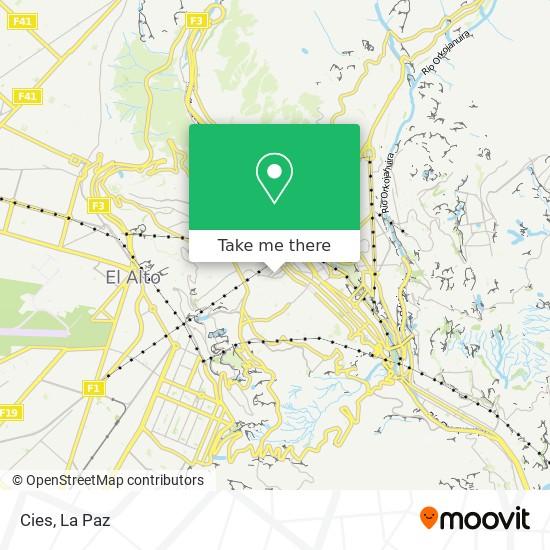 Cies map