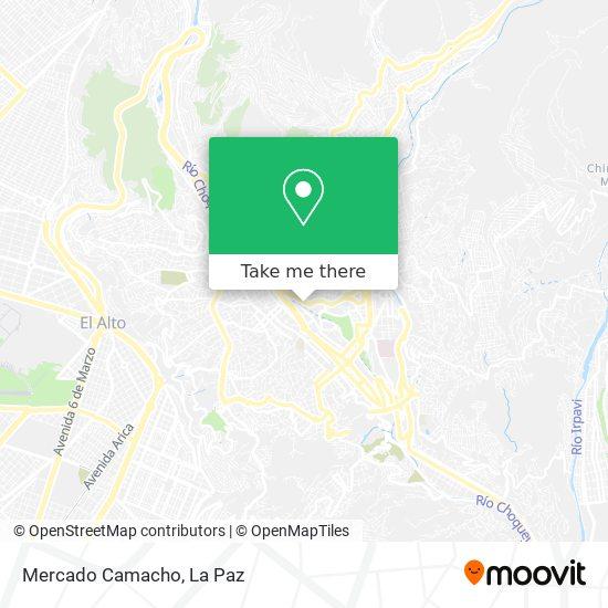 Mercado Camacho map