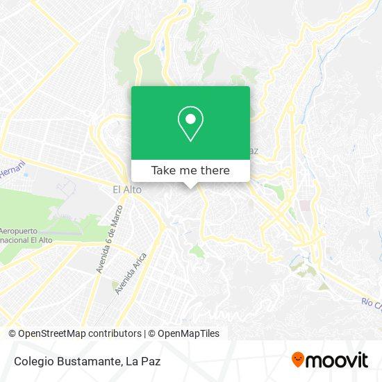Colegio Bustamante map